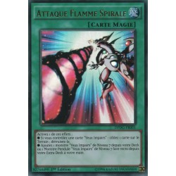 Yugioh Attaque Flamme Spirale (UR) [DPDG]