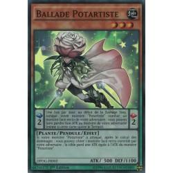 Yugioh Ballade Potartiste (SR) [DPDG]