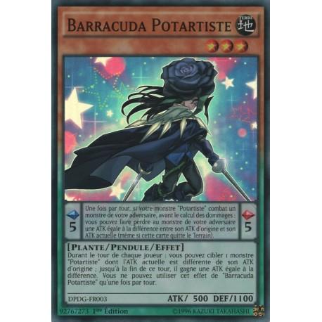 Yugioh Barracuda Potartiste (SR) [DPDG]