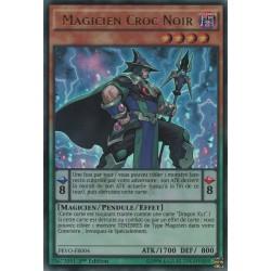 Yugioh - Magicien Croc Noir (UR) [PEVO]