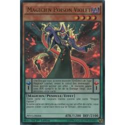 Yugioh - Magicien Poisoin Violet (UR) [PEVO]