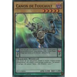 Yugioh - Canon De Foucault (SR) [PEVO]