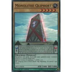 Yugioh - Monolithe Qliphort (SR) [PEVO]
