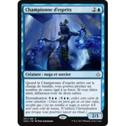 Bleue - Championne d'esprits (R) [HOU]