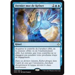 Bleue - Dernier mot de Kefnet (R) [HOU]