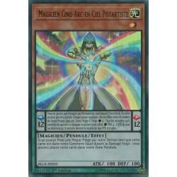 Yugioh Magicien Cinq-arc-en-ciel Potartiste (UR) [BLLR]