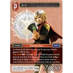 Final Fantasy - Feu - Ace (FF3-003R) (Foil)