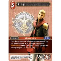 Final Fantasy - Feu - King (FF3-006R) (Foil)