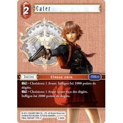 Final Fantasy - Feu - Cater (FF3-009C) (Foil)
