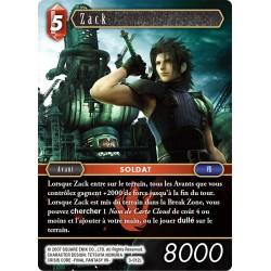 Final Fantasy - Feu - Zack (FF3-012L) (Foil)