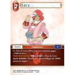 Final Fantasy - Feu - Luca (FF3-023C) (Foil)