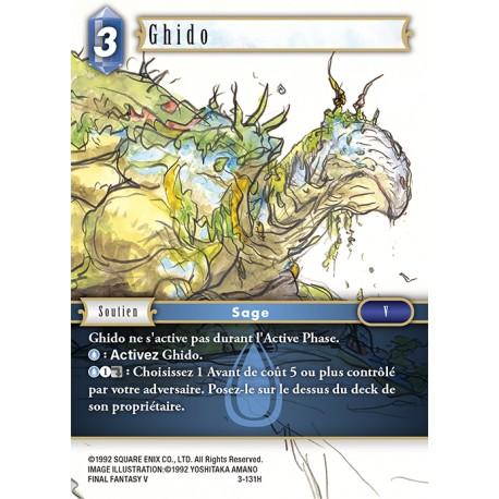 Final Fantasy - Eau - Ghido (FF3-131H) (Foil)