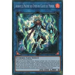 Yugioh - Auram le Maître des Epées du Calice du Monde (SR) [CODT]