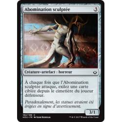 Artefact - Abomination sculptée (C) [HOU] FOIL
