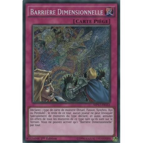 Yugioh - Barrière Dimensionnelle (STR) [MP17]