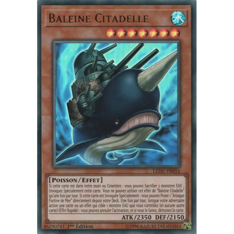 Yugioh duellistes l gendaires baleine citadelle ur - Pokemon baleine ...