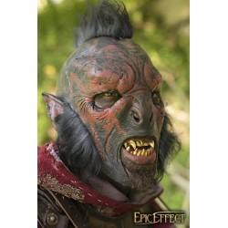 Masque - Orc Décharné Rouge