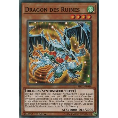 Yugioh - Dragon des Ruines (C) [SDCL]