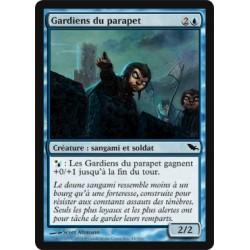 Bleue - Gardiens du parapet (C)