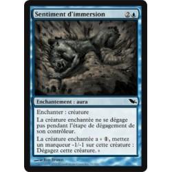 Bleue - Sentiment d'immersion (C)