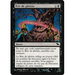 Noire - Rite de phtisie (C)
