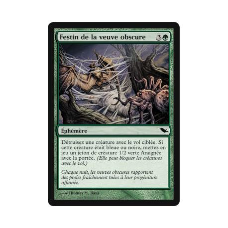 Verte - Festin de la veuve obscure (C)