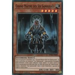 Yugioh - Grand Maître des Six Samouraïs (SR) [SPWA]