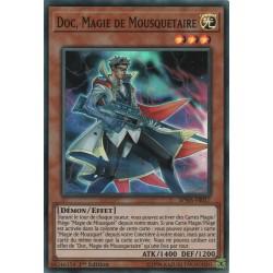 Yugioh - Doc, Magie de Mousquetaire (SR) [SPWA]