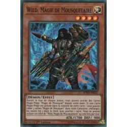 Yugioh - Wild, Magie de Mousquetaire (SR) [SPWA]