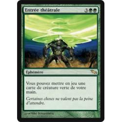 Verte - Entrée théâtrale (R)