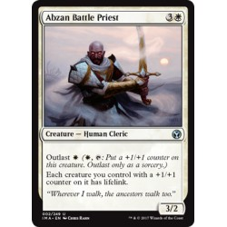 Blanche -  Abzan Battle Priest (U) [IMA] (FOIL)