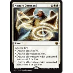 Blanche - Austere Command (R) [IMA] (FOIL)