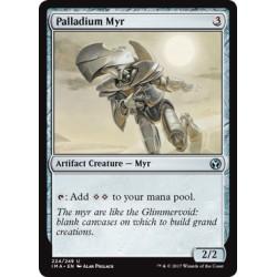 Artefact - Palladium Myr (U) [IMA] (FOIL)