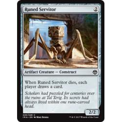 Artefact - Runed Servitor (C) [IMA] (FOIL)