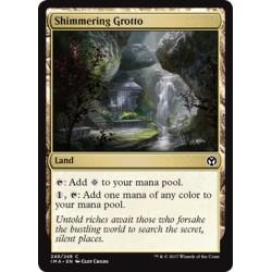 Terrain - Shimmering Grotto (C) [IMA] (FOIL)