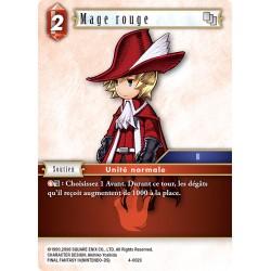 Final Fantasy - Feu - Mage Rouge  (FF4-002C)