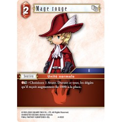 Final Fantasy - Feu - Mage Rouge  (FF4-002C) (Foil)