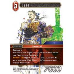 Final Fantasy - Feu - Cyan  (FF4-007H) (Foil)