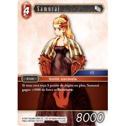 Final Fantasy - Feu - Samurai  (FF4-014C) (Foil)