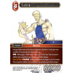 Final Fantasy - Feu - Sabin  (FF4-021L) (Foil)