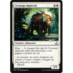 Blanche - Cératops impérial (U) [RIX]