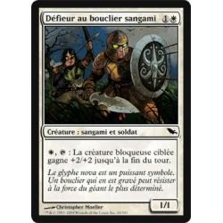 Blanche - Défieur au bouclier sangami (C)