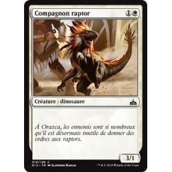 Blanche - Compagnon raptor (C FOIL) [RIX]