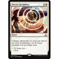 Blanche - Décret du Sphinx (R FOIL) [RIX]