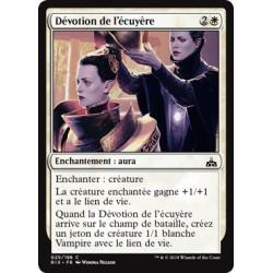 Blanche - Dévotion de l'écuyère (C FOIL) [RIX]