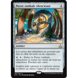 Artefact - Pierre tombale silencieuse (R FOIL) [RIX]