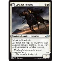 Blanche - Cavalier solitaire (U) [EMN] (FOIL)