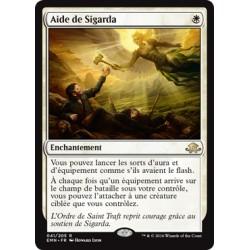 Blanche - Aide de Sigarda (R) [EMN] (FOIL)