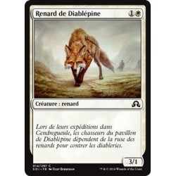 Blanche - Renard de Diablépine (Foil) (C) [SOI]