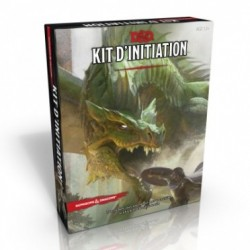 Kit d'initiation Dungeons & Dragons.